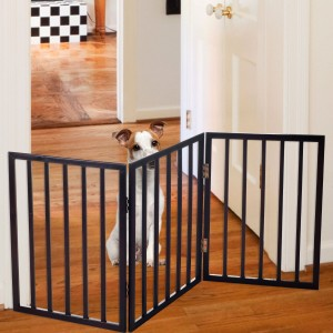 Accordion gate for dogs