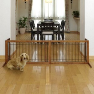 Freestanding Dog Gate for Indoor