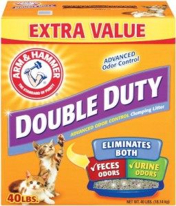 Double-Duty Clumping Litter
