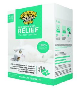 Precious Cat Respiratory Relief Cat Litter with Herbal Essences