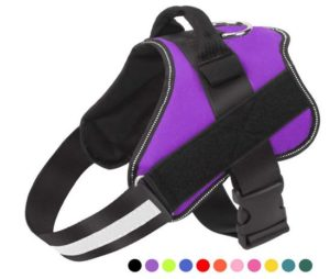 Bolux Dog Harness, No-Pull Reflective Breathable Adjustable Pet Vest