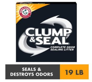 Arm & Hammer Clump & Seal Platinum Litter