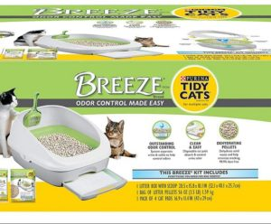 Purina Tidy Cats Litter Box System, Breeze System Starter Kit Litter Box