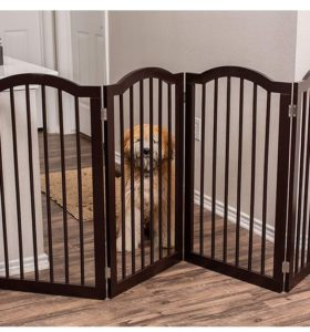 Pet Gate with Arched Top