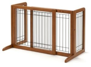 Richell Adjustable Large Gate for Puppies and Medium Sized Pets