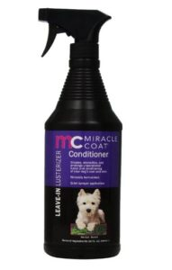 Miracle Coat Leave-in Lusterizer and Conditioner for Dogs