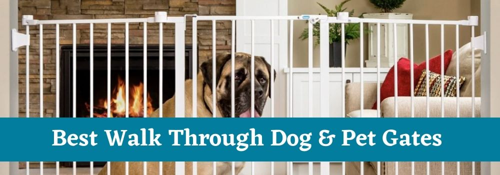 Walk Through Dog & Pet Gates For Home